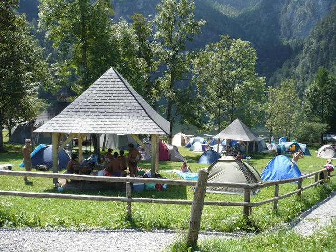 Camping am Gleinkersee