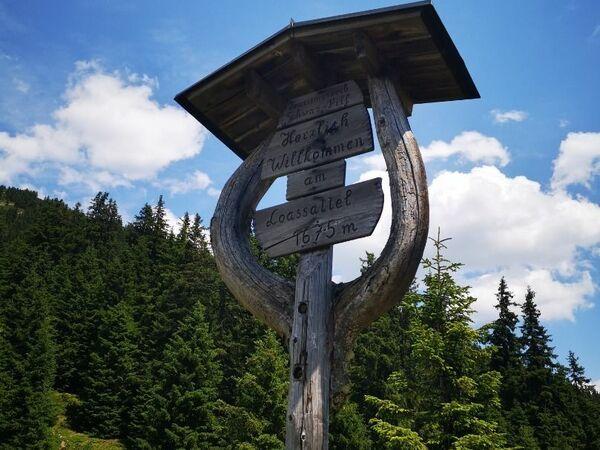 Bergstation Spieljochbahn - Hochfügen (Weg Nr. 18)