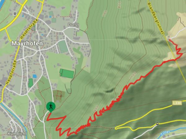 Bergwanderung Mayrhofen - Steinerkogel