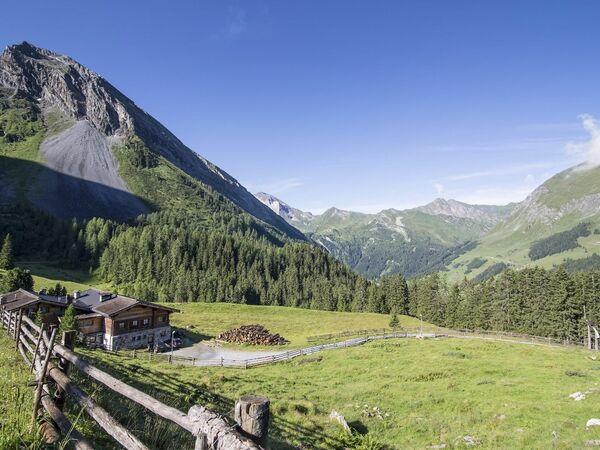 Lanersbach - Höllensteinhütte - Grieralm - Lanersbach