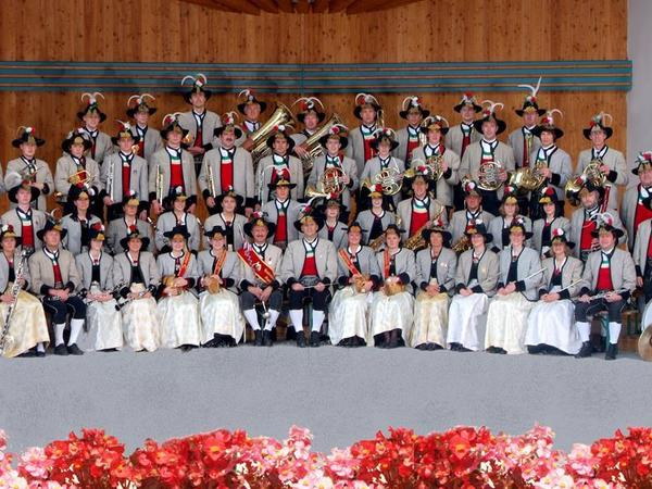 Open-air concert by the Mayrhofen brass band