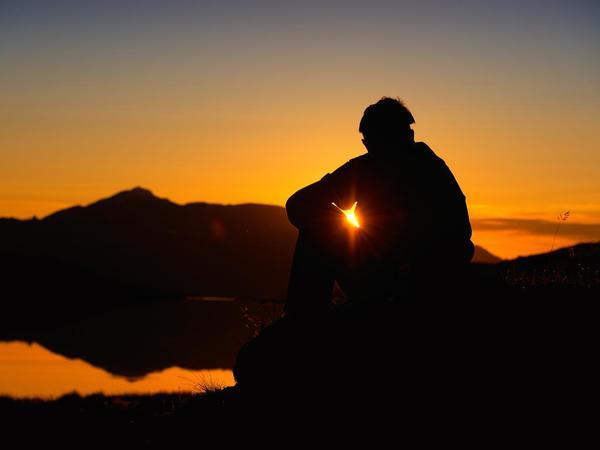 Sonnenaufgang über dem Tuxertal
