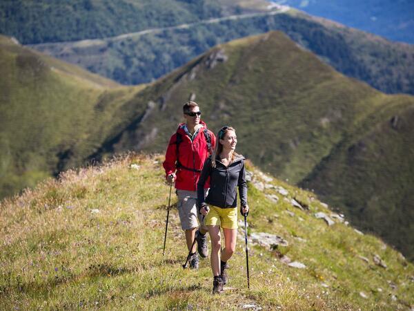 Wandertaxi zur Hobalm / Vallruckalm