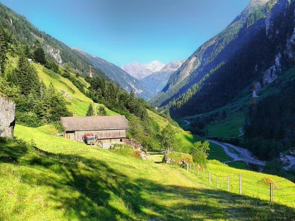 Out and about in the valley - the source of the Ziller River