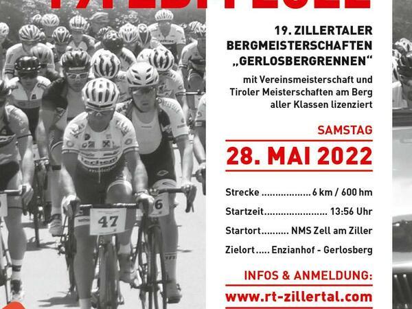 17. Zillertaler Bergmeisterschaft - Bergrennen Gerlosberg