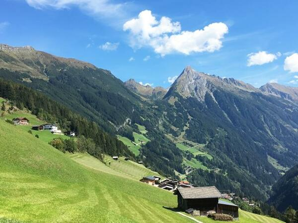 The sun village of Brandberg: gem of the Zillertal valley