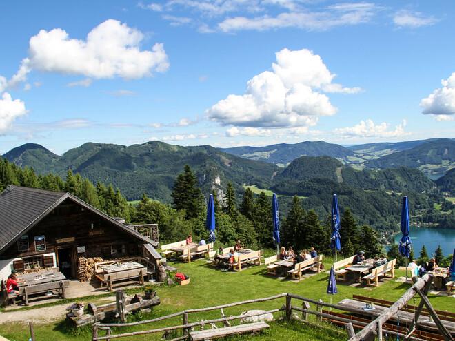 Lärchenhütte am Zwölferhorn