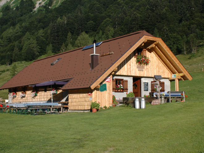 Grubenbach Hütte - Gruberalm