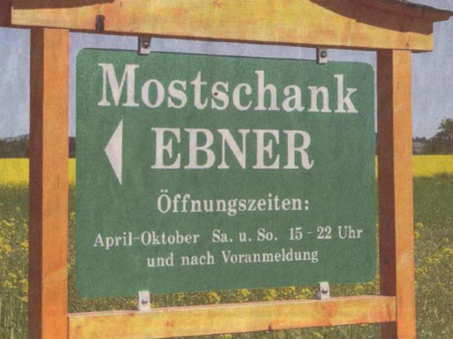 Mostheuriger Winkler vulgo 'Ebner z'Eben'