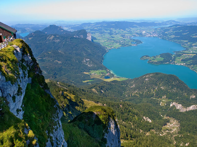 Mondsee from the highest summit (© www.shutterstock.com)