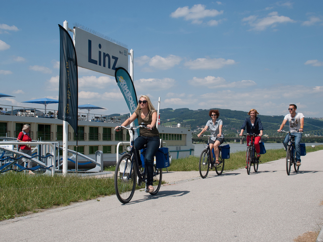Donauradln & Stadterlebnis