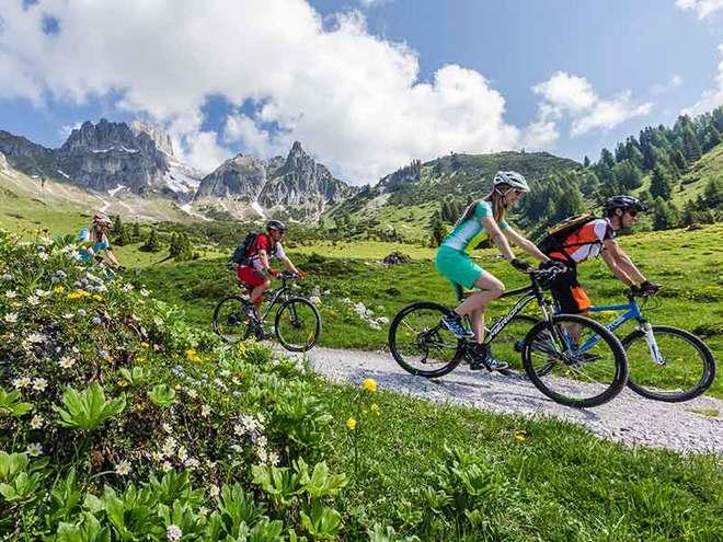 Mountainbike Dachsteinrunde Genießertour