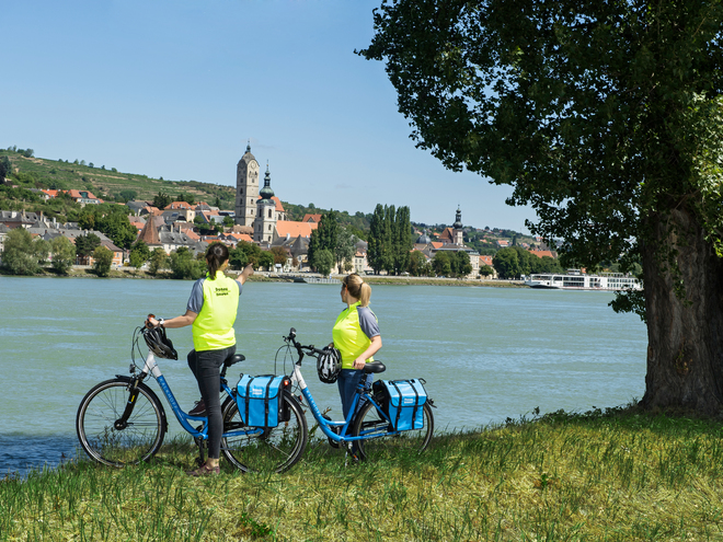 Danube cycle path from Passau to Vienna at a sensational price