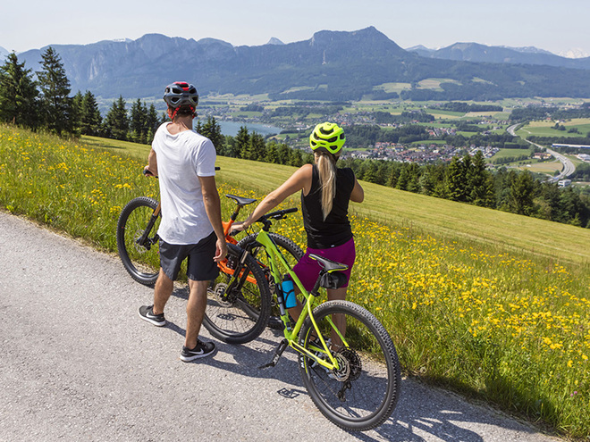 E-Bike-Tour (© www.fuschlseeregion.com)