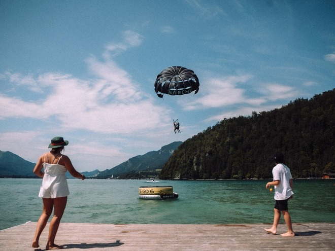 Water ski school Girbl