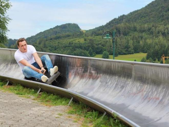 Summer Tobogganing in Fuschl am See