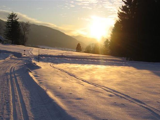 Cross-country skiing area Nußdorf-Oberwang
