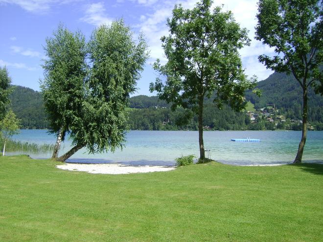 Badeplatz Wesenauer am Fuschlsee