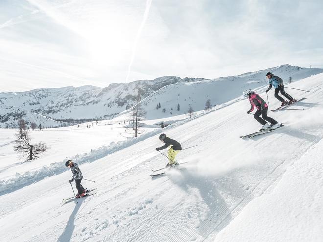 Skigebiet Hinterstoder - auf den Spuren der Weltcup-Stars