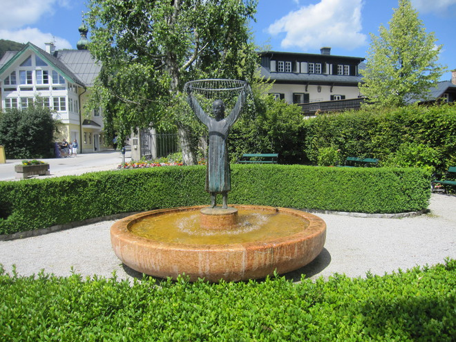 Brunnen Mozarts Mutter