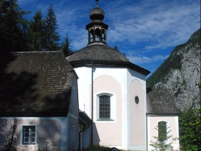 Calvary church Hallstatt