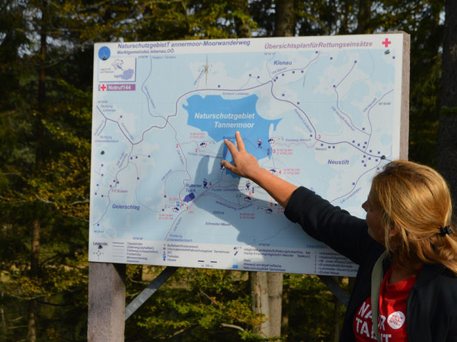 Naturschutzgebiet Tannermoor und Rubener Teich