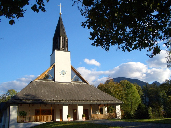 Catholic Church St. Konrad in Abersee