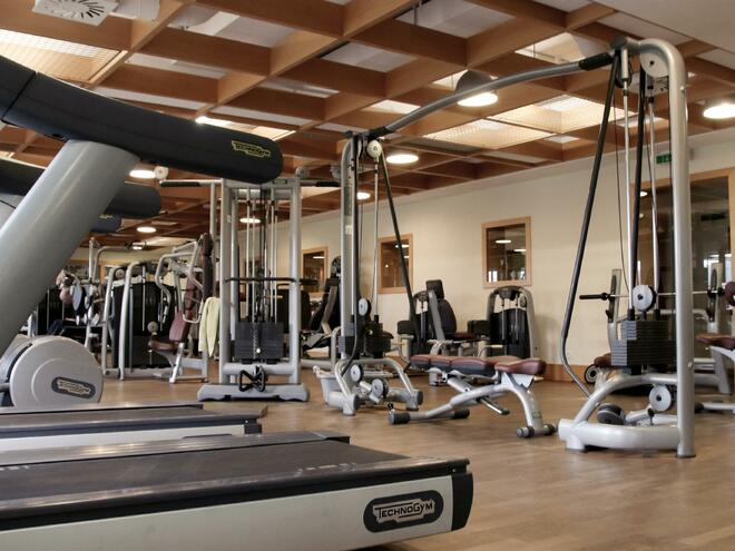 Fitness Center im Hotel Almesberger