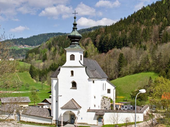 Friedhofskirche St. Leonhard zu Spital am Pyhrn