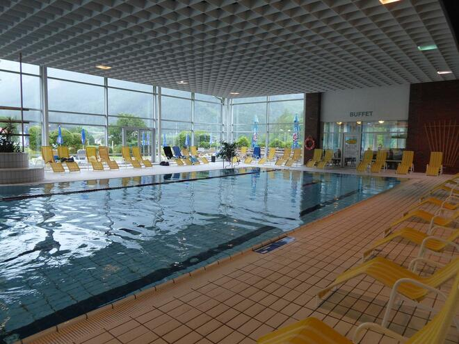 Panorama Indoor Swimming Pool in Spital am Pyhrn