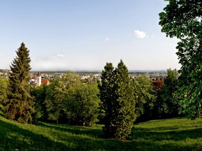 Panoramablick Perg Kalvarienberg