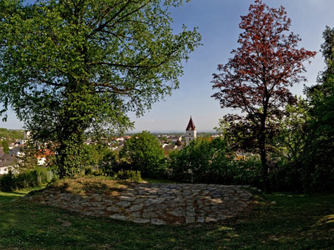 Panoramablick Perg Stadler Gründe