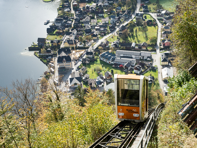 Hallstatt Salt Mine Railway