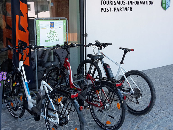 E-Bike Verleih Gemeinde Steinbach