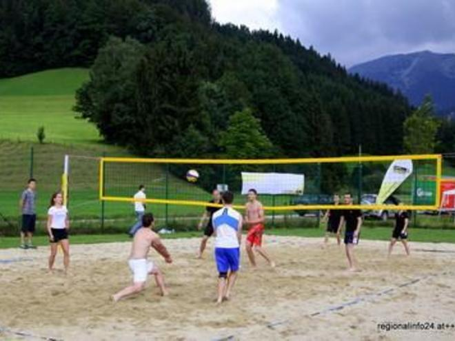 Beach-Volleyball-Platz