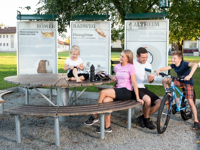 Roman Cycle Trail Rest Area Altheim Römermuseum