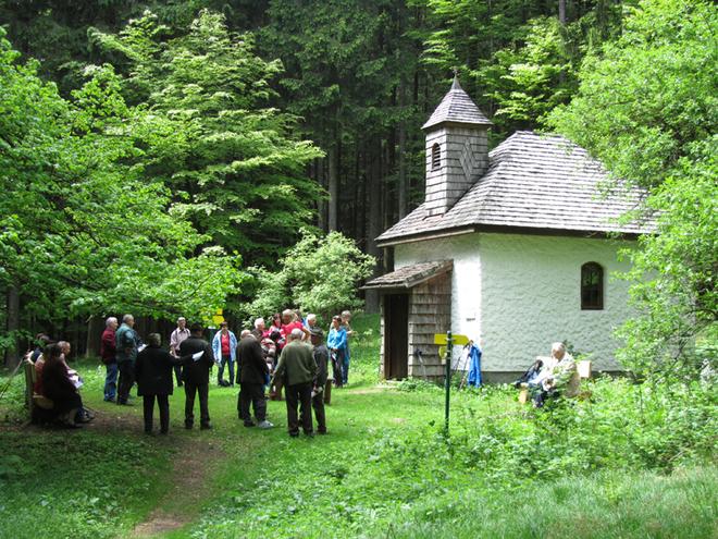 Vom Riesnerhof zur Radstattkapelle