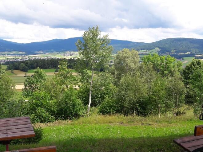 Panorama-Radroute