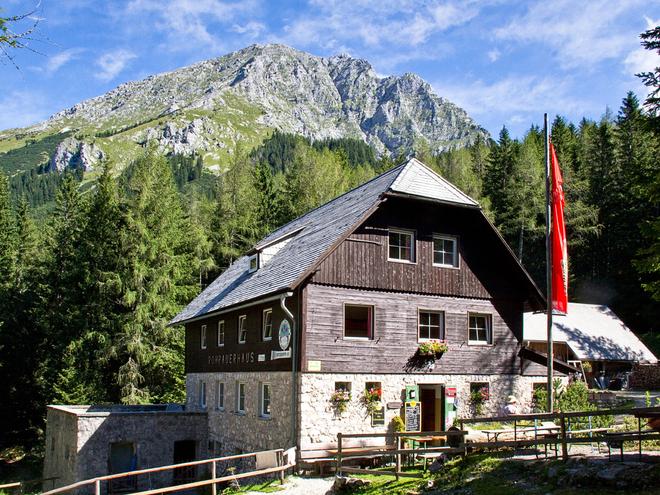 Almenhöhenweg vom Rohrauerhaus über die Hofalm zur Gowilalm