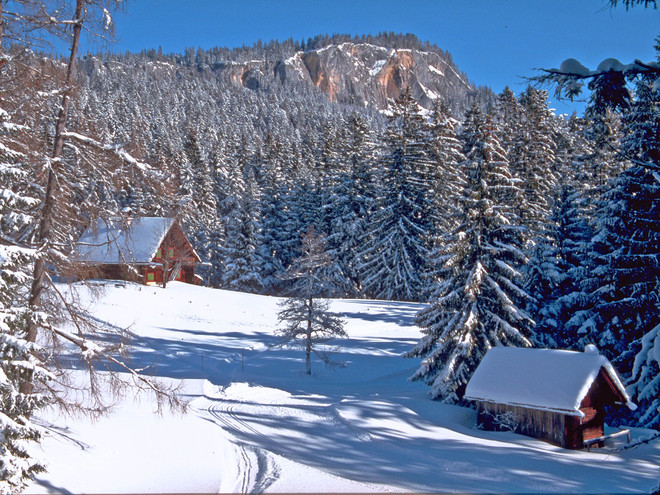 Skitour zur Hütteneckalm