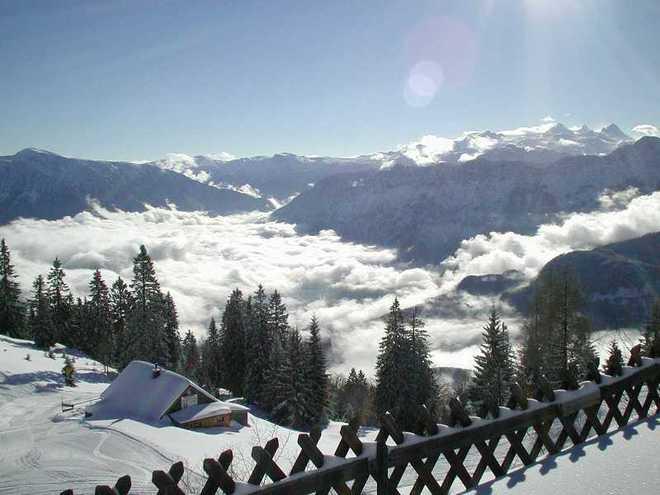 Skitour auf die Katrinalm