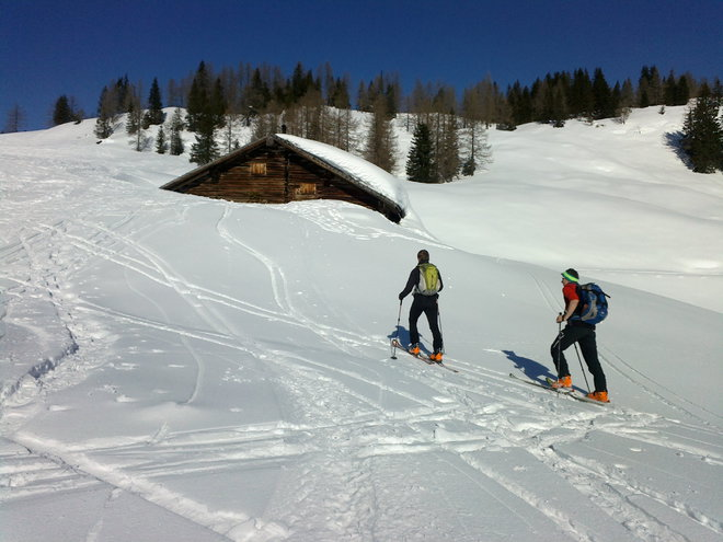 Skitour auf das Egelseehörndl