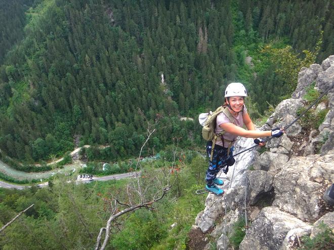 Klettersteig Poppenberg - Hinterstoder
