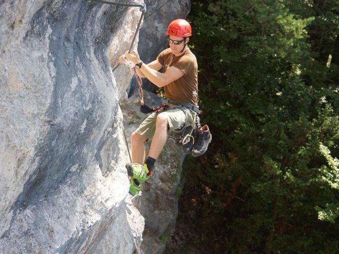 Klettersteigpark Bannholzmauer