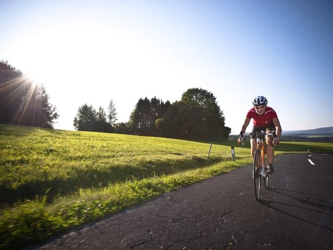 Rennradtour Hügellandschaft