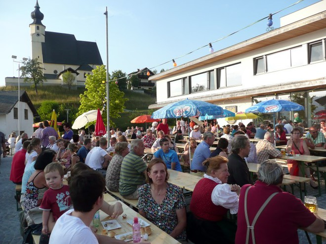 Village Festival in Steinbach am Attersee