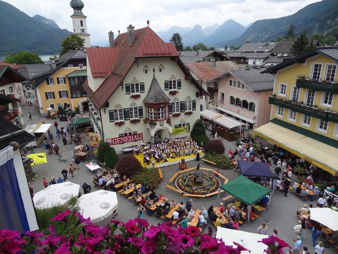 Dorffest in St. Gilgen