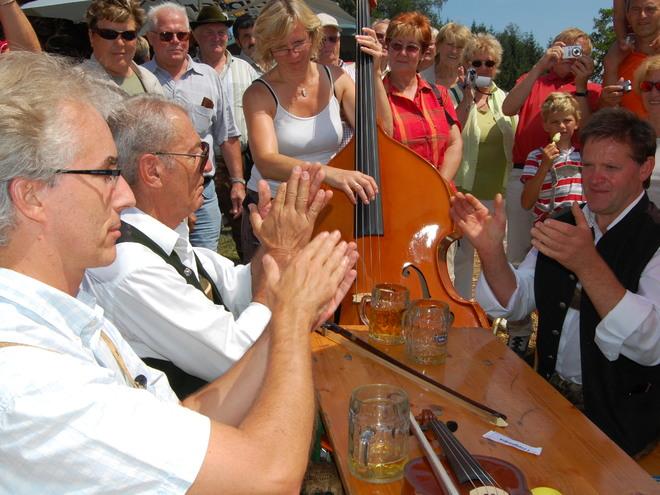 15. Volksmusikantenfest am Hongar im Salzkammergut