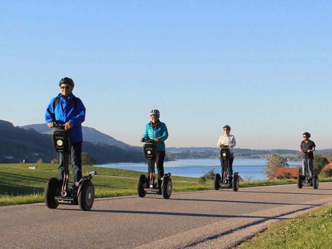 Segway Tour around the 'Irrsee' lake