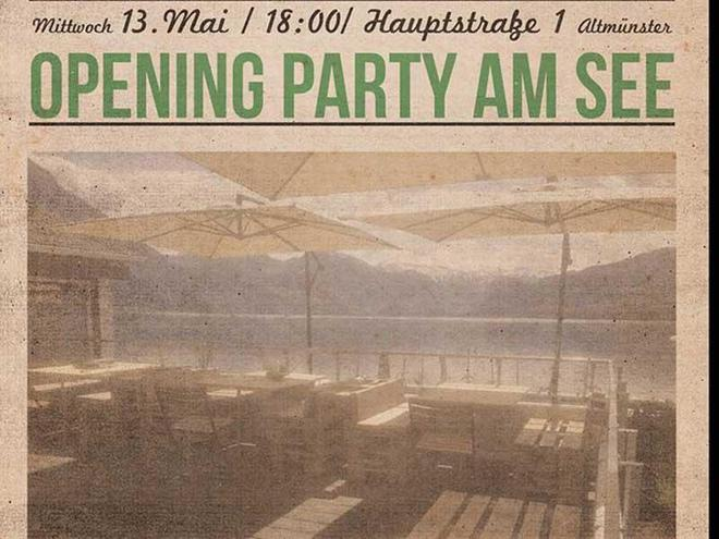 Opening Party am See - Tapaletta